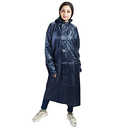 c670f7a04 New Era Women's Polyester Taping Rain Coat (Freedom-nb,Blue,XL): Amazon.in:  Sports, Fitness & Outdoors
