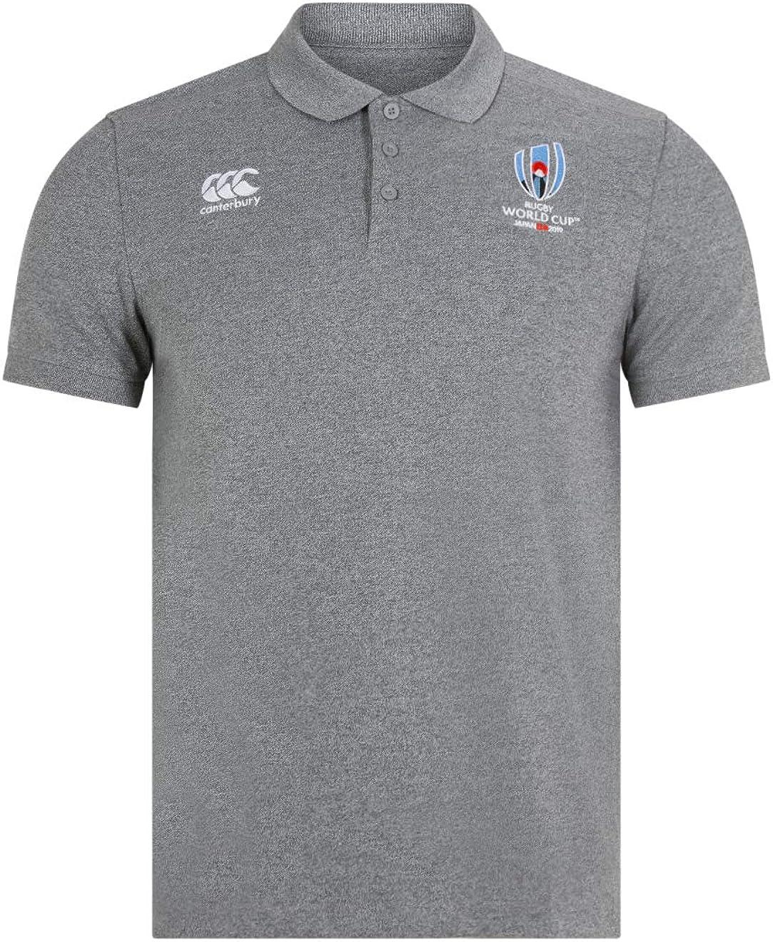 Canterbury Oficial de La Rugby World Cup 2019 - Polo de algodón piqué Hombre: Amazon.es: Ropa y accesorios