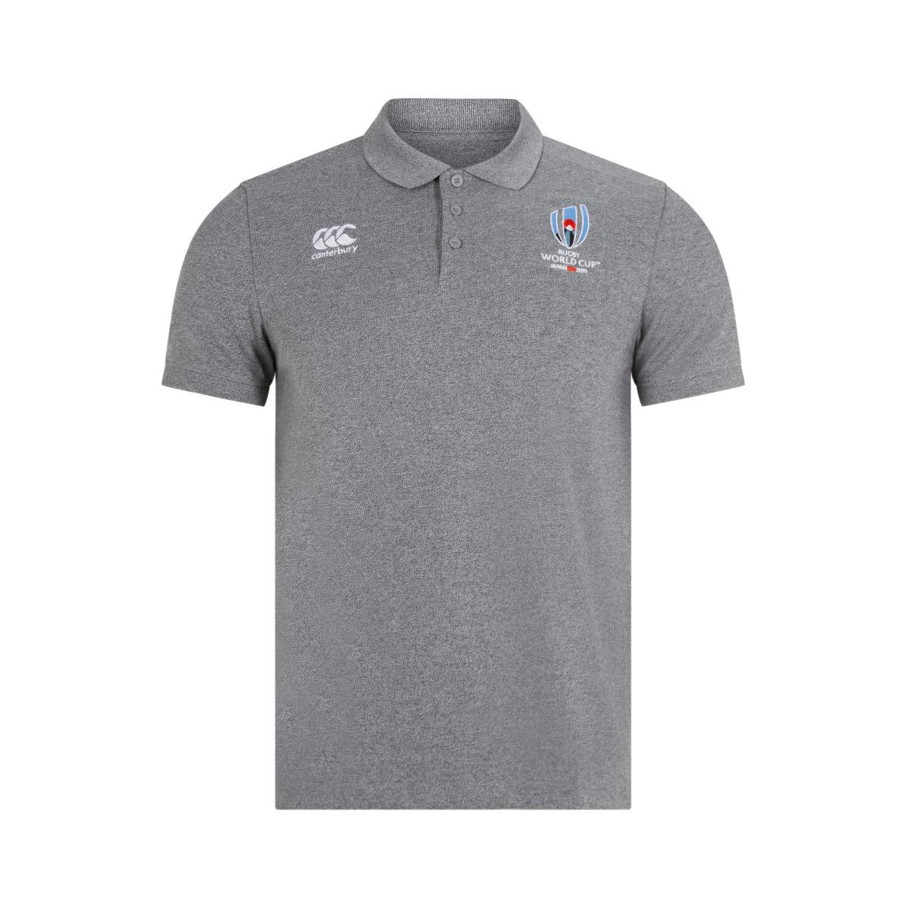 Canterbury Official Rugby World Cup 19 Mens Cotton Pique Polo