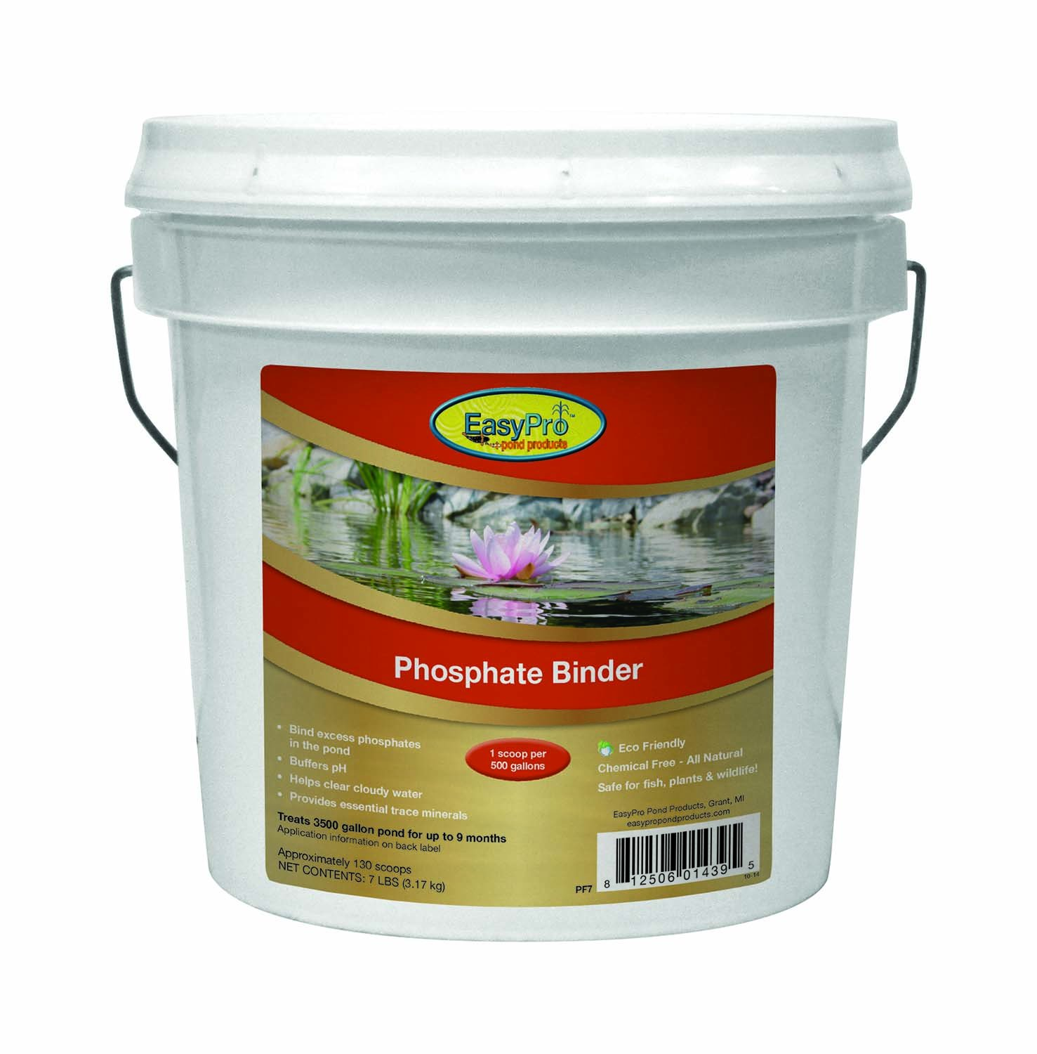 EasyPro Products PF7 All Natural Phosphate Binder by EasyPro Pond Products