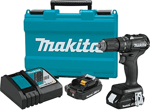 Makita XPH11RB 18V LXT Lithium-Ion Sub-Compact Brushless Cordless 1 2 Hammer Driver-Drill Kit 2.0Ah