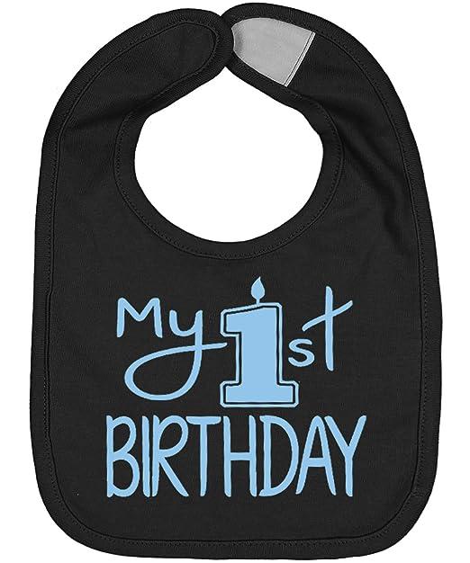 Amazon.com: Babero para bebé hecho a mano, diseño de Mi ...
