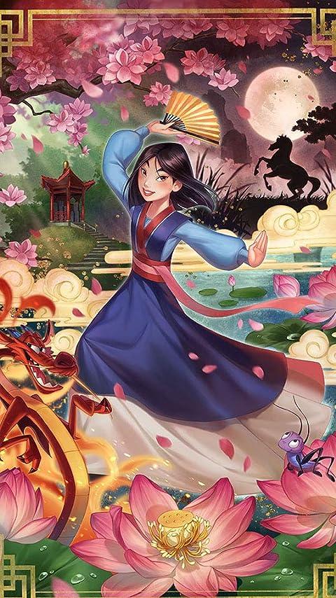 ディズニー ムーラン XFVGA(480×854)壁紙画像