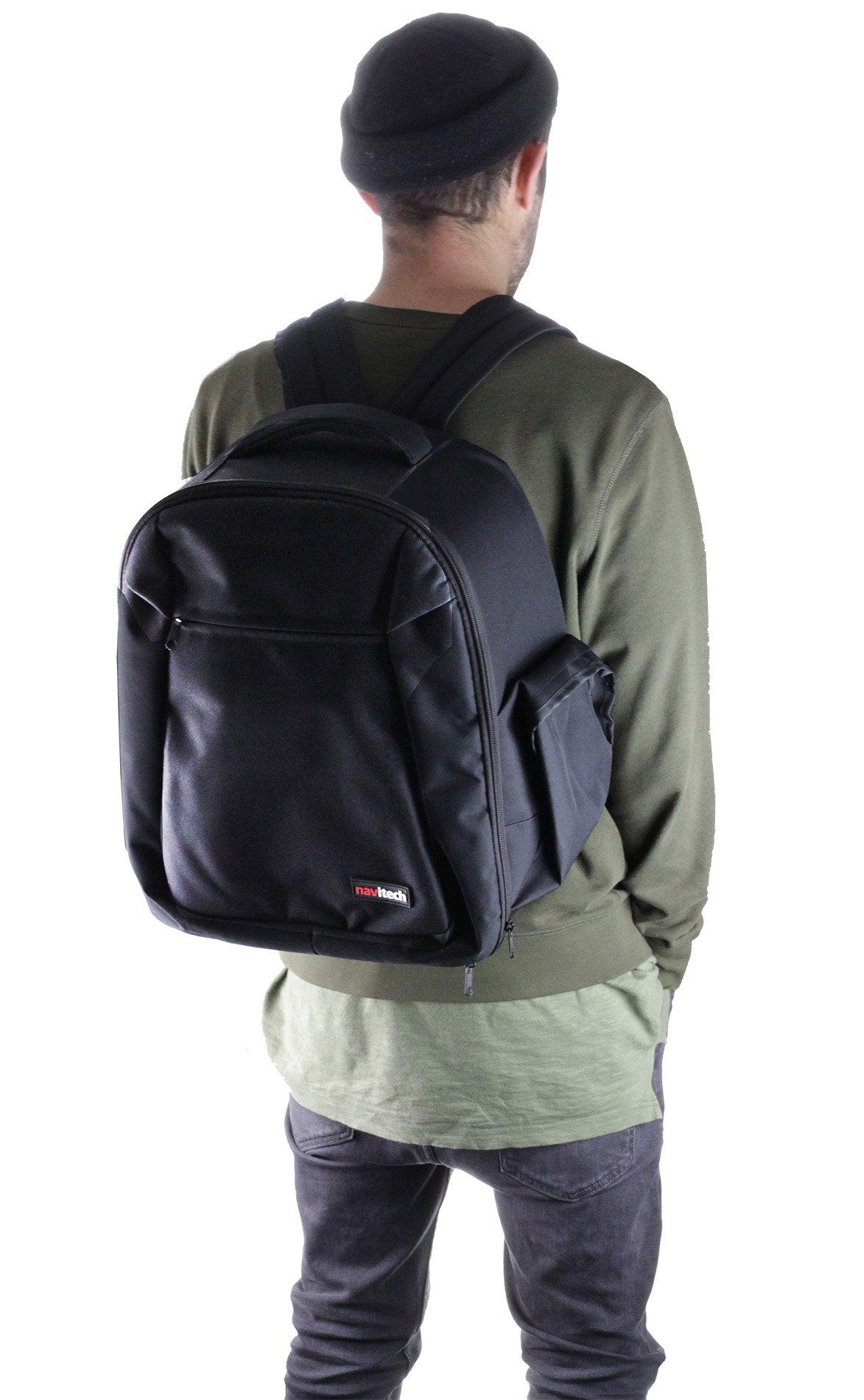 Navitech Rugged Black Backpack/Rucksack for The Oculus Rift + Oculus Touch Controller by Navitech (Image #5)