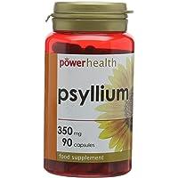 Power Health 350mg Psyllium Diet Supplement Ispaghula Capsules - Pack of 90 Capsules