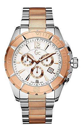 X53002G1S Guess Collection Sport Class Mens Watch Two Tone 45mm
