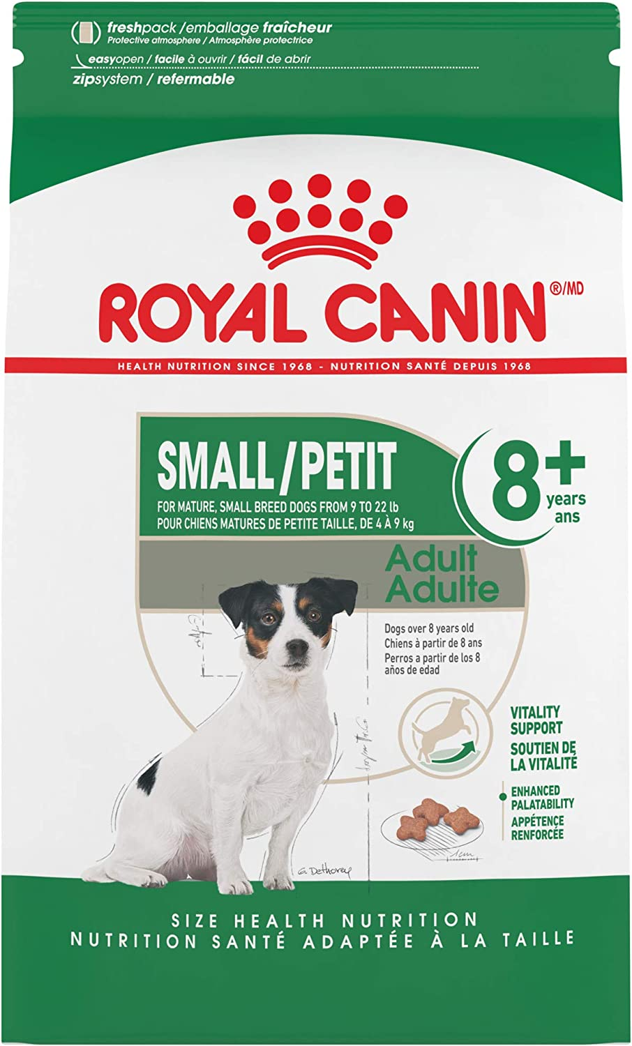 Royal Canin Small Adult 8+ Dog Food for Small Breeds