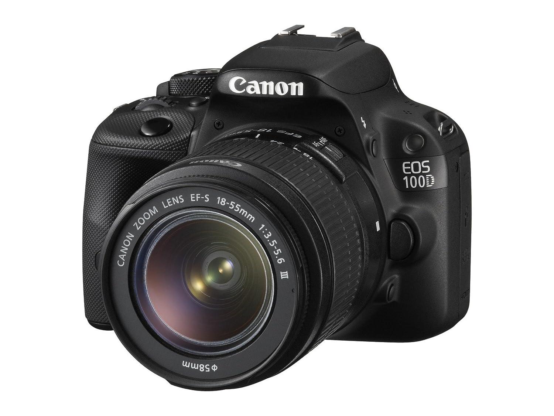 Canon EOS 100D - Cámara réflex digital de 18 MP (pantalla táctil LCD de 3