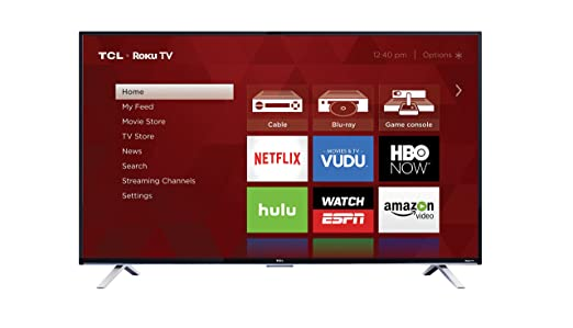 TCL 55US5800 55-Inch 4K Ultra HD Roku Smart LED TV