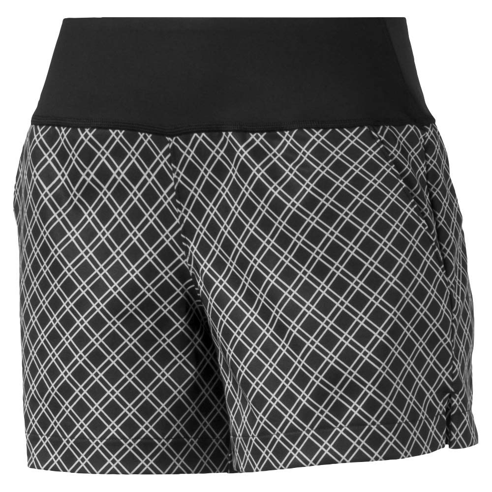 Puma Golf Women's 2019 Pwrshape Short, Puma Black-Quarry, x Small by PUMA