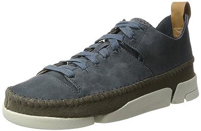 46afa2459c CLARKS Originals Trigenic Flex, Women's Low-Top Sneakers, Blue (Slate Nubuck )