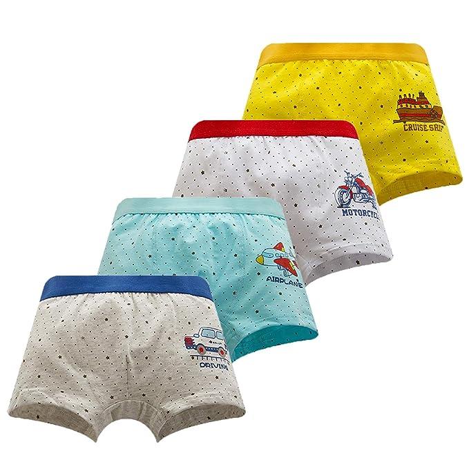 BLOMDE Boxer para niños pequeños Ropa Interior de Coches por 2-3 años