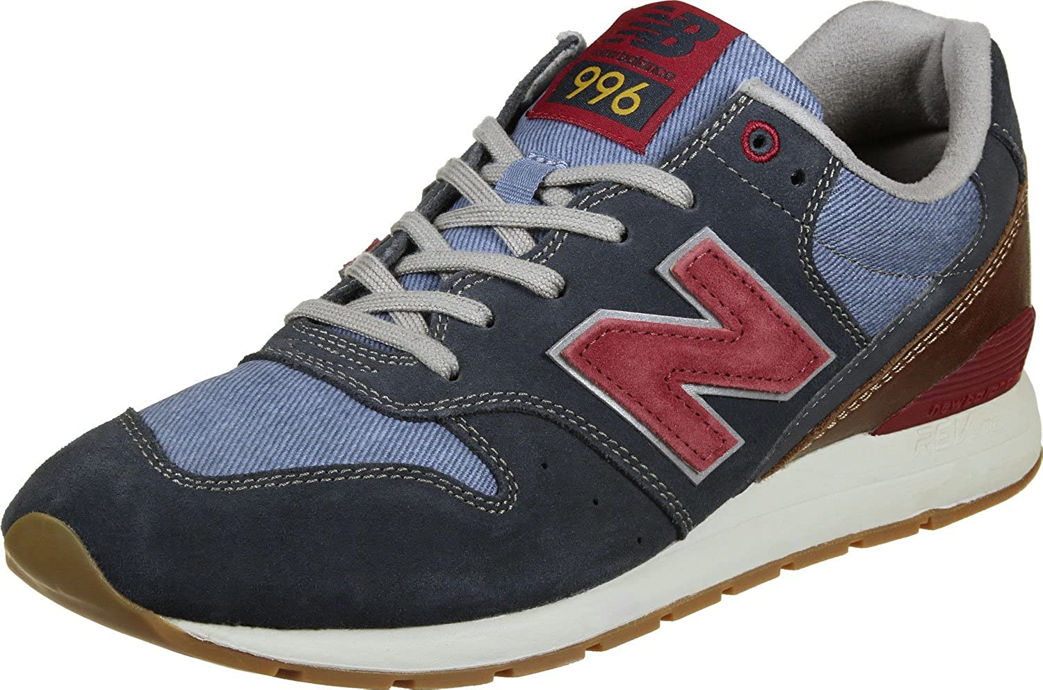 new balance rouge navy