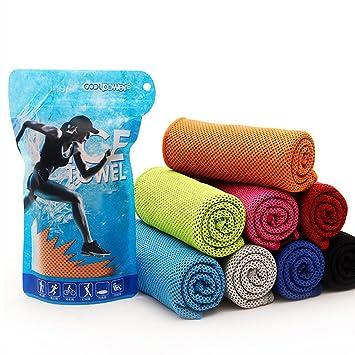 Amazon.com: CoolPower toalla de refrigeración para alivio de ...