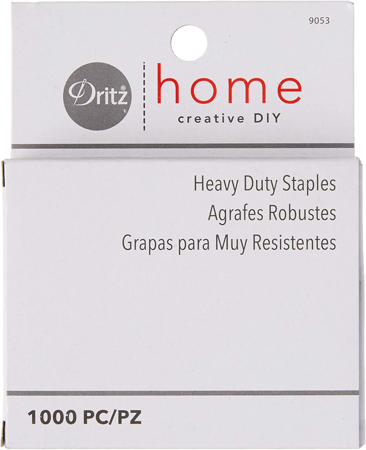 Dritz Home 9053 Heavy Duty Staples, 7/16-Inch (1000-Piece): Arts, Crafts & Sewing