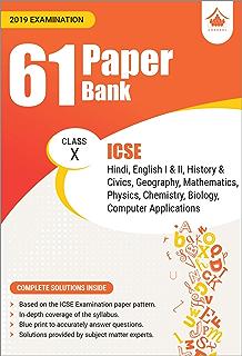 61 Paper Bank : ICSE Class 9 for 2019 Examination (Model