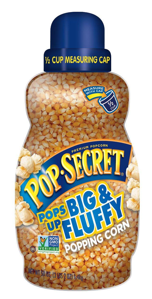 Pop Secret Jumbo Popping Corn Kernels, 50 Ounce (Pack of 6)