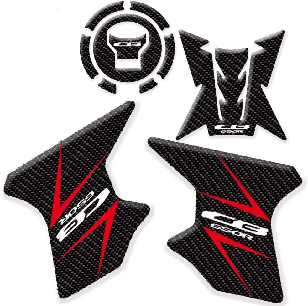 2x Motorrad Anti Rutsch Gas Tank Traction Pad Knie Griffschutz Aufkleber für