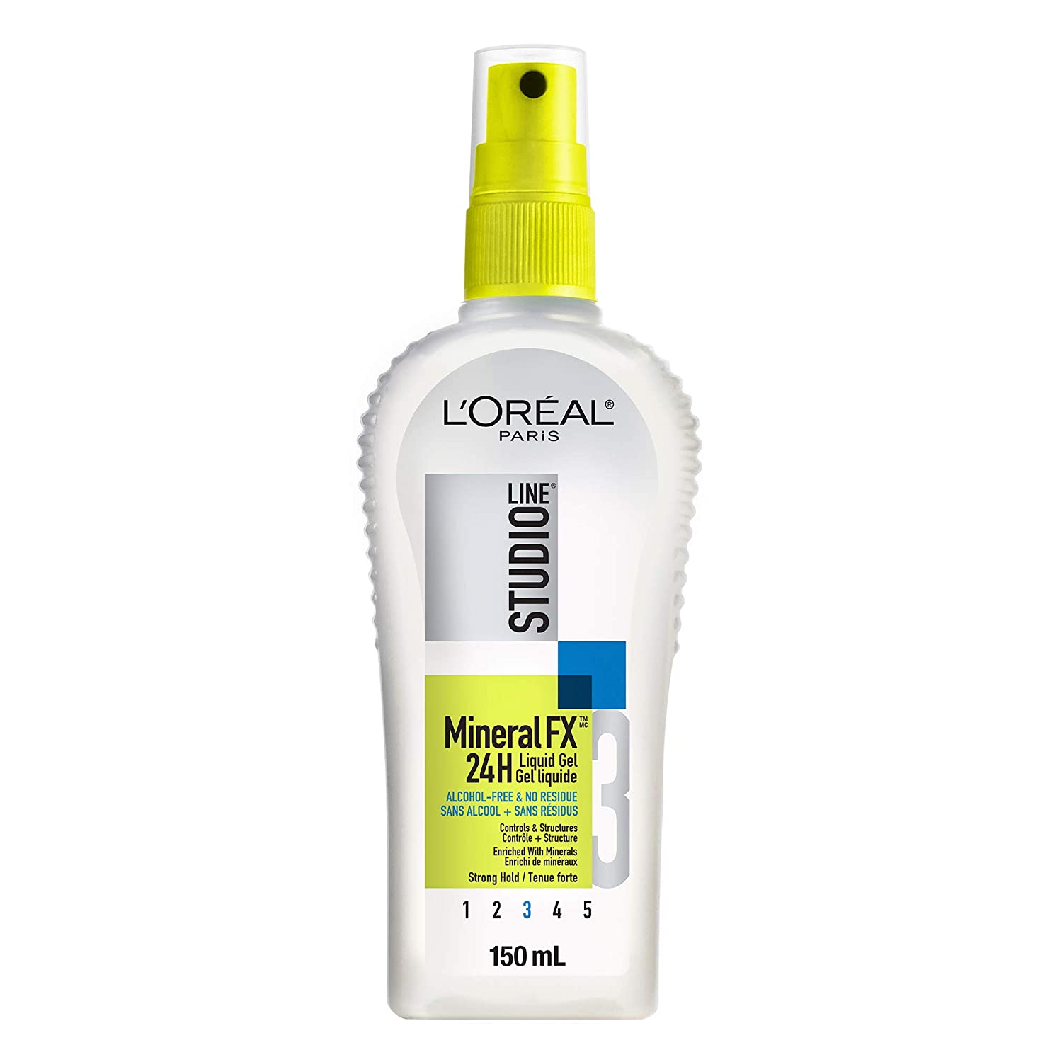 L'Oreal Paris Studio Line MineralFX 24h Strong Hold Liquid Gel, 150-Milliliter L' Oreal Paris