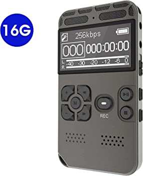 Digital 8GB Audio Sound Recorder with MP3 Player