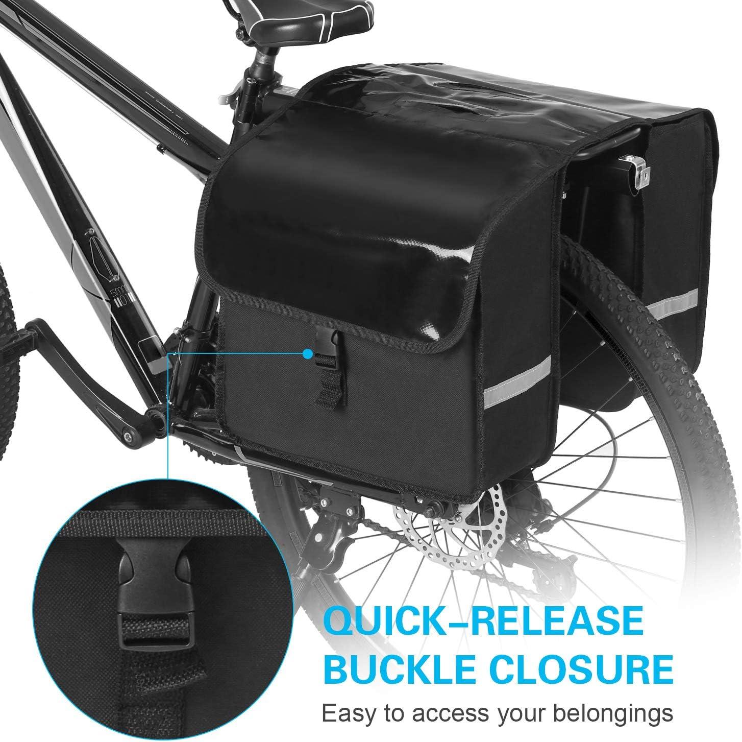 Coffre Explopur Bike Rack Bag Coffre /à Bagages imperm/éable Sacoche de si/ège arri/ère pour v/élo /à v/élo