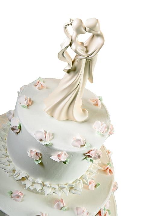 Wilton two ring wedding cake topper
