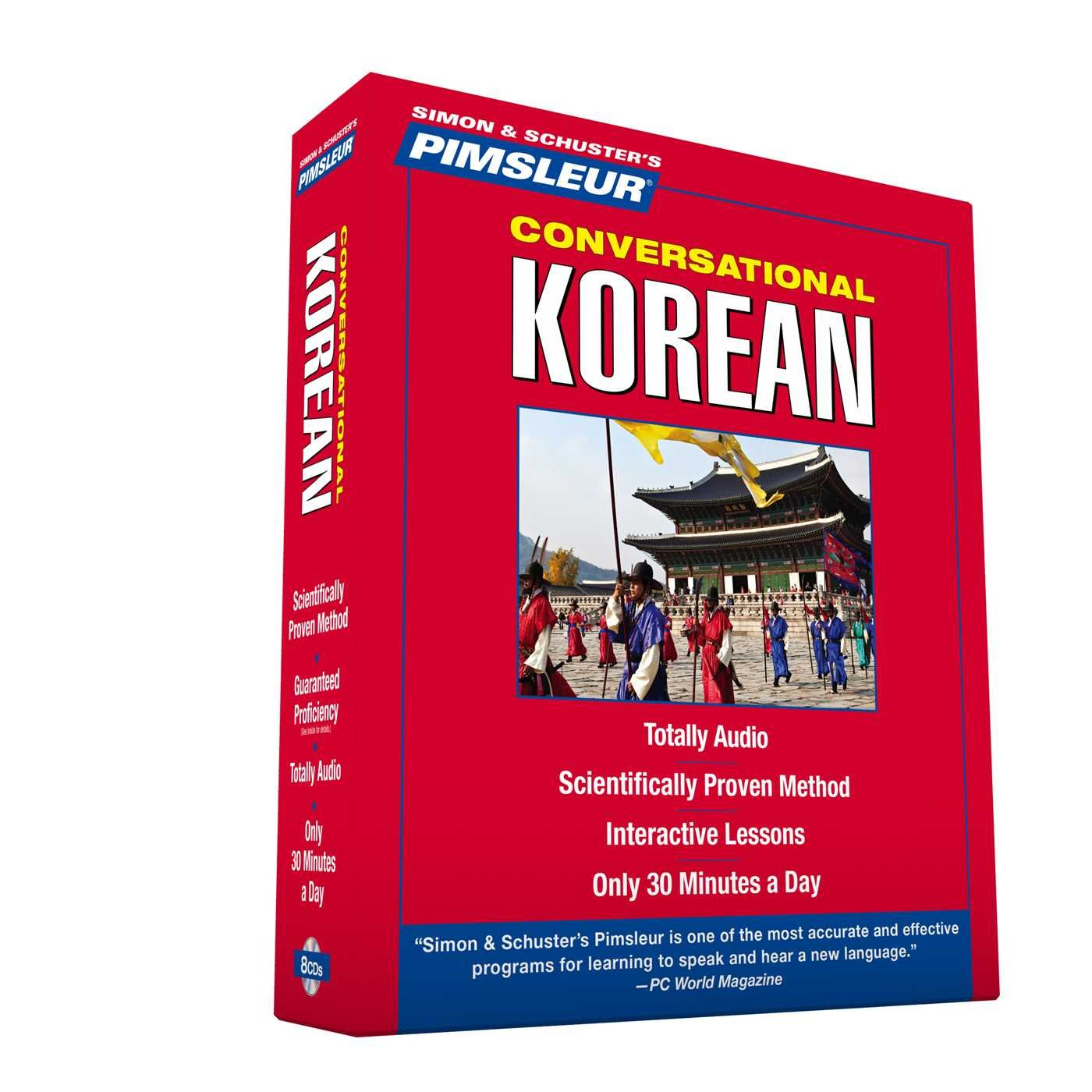 Pimsleur Korean Conversational Course Understand product image