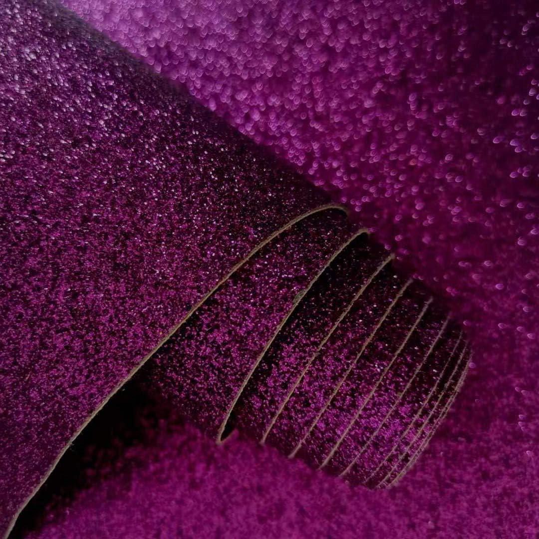 21 cm x 136 cm decoraci/ón de pared para dormitorio negro Rollo de papel pintado ZAIONE con purpurina autoadhesiva papel pintado