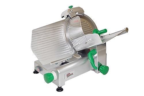 PRIMO PS-12 Anodized Aluminum Meat Slicer, Belt Drive Transmission