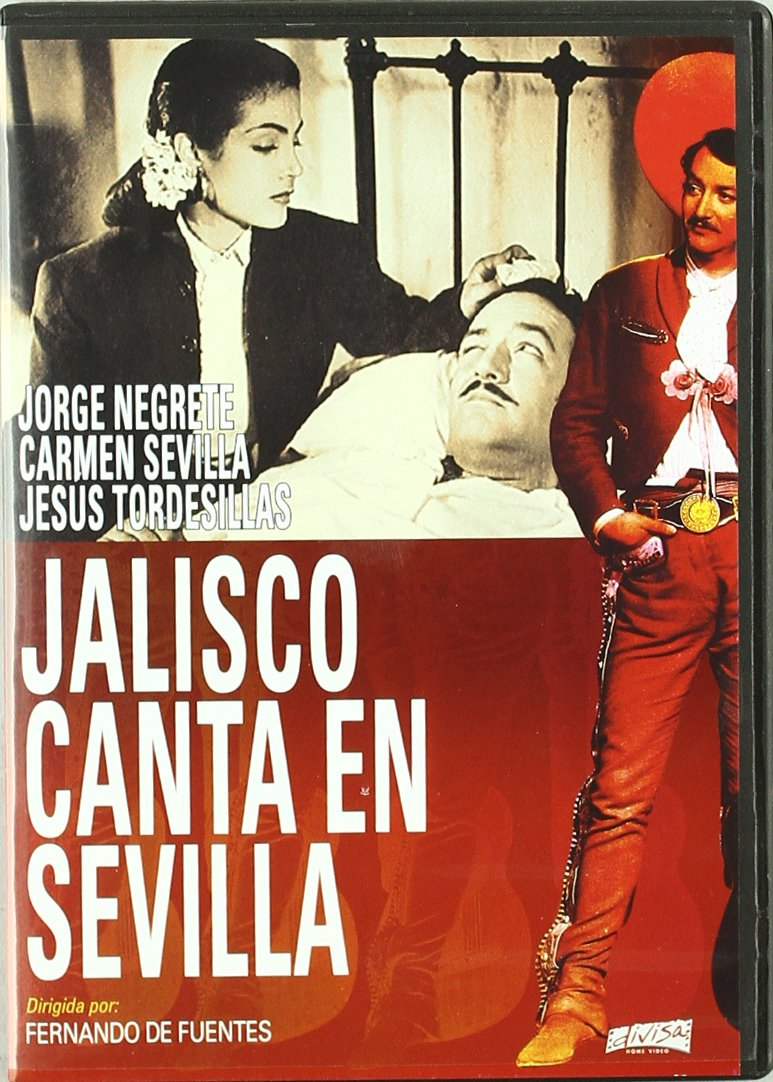 Jorge Negrete: Jalisco canta en Sevilla [DVD]: Amazon.es: Varios: Cine y Series TV