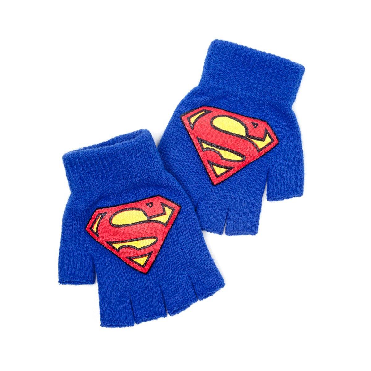 Superman Guanti pz Fingerless Logo Bioworld