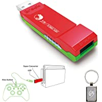Gam3Gear Brook Super SW Converter for Xbox One Xbox 360 to Nintendo Switch Controller Adapter with Gam3Gear Keychain