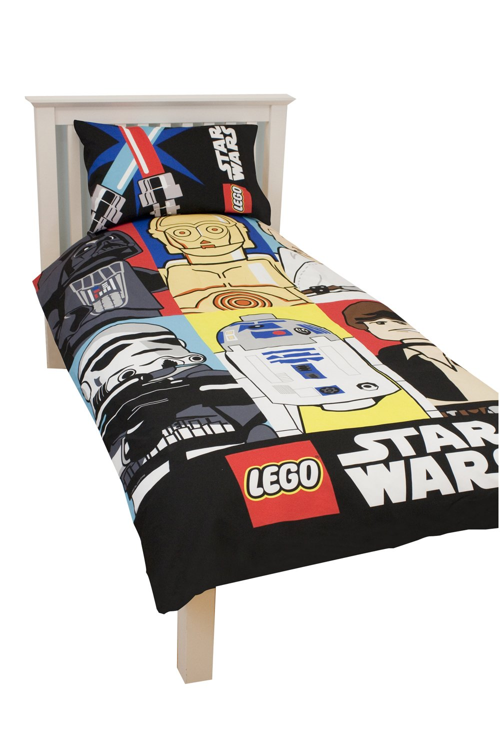 Funda Nordica Lego Star Wars.Character World Lego Star Wars Bricks Single Panel Duvet Set