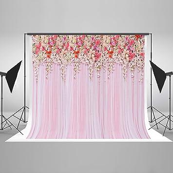 Amazon kate 7x5ft pink photography backdrops flowers curtain kate 7x5ft pink photography backdrops flowers curtain background for wedding decoration photo shoot backdrop props junglespirit Gallery