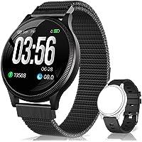 BANLVS Reloj Inteligente, Smartwatch IP67 1.22 Pulgadas Pulsómetro