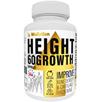 Height Growth Maximizer Supplement - Natural Height Pills to Grow Taller - Made in USA - Growth Pills with Calcium for Bone Strength - Get Taller Supplement That Increases Bone Growth - Made in USA