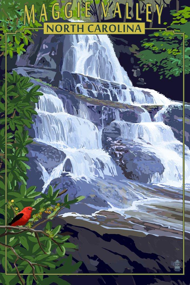 マギーValley , North Carolina 36 x 54 Giclee Print LANT-48305-36x54 B017E9WONK  36 x 54 Giclee Print