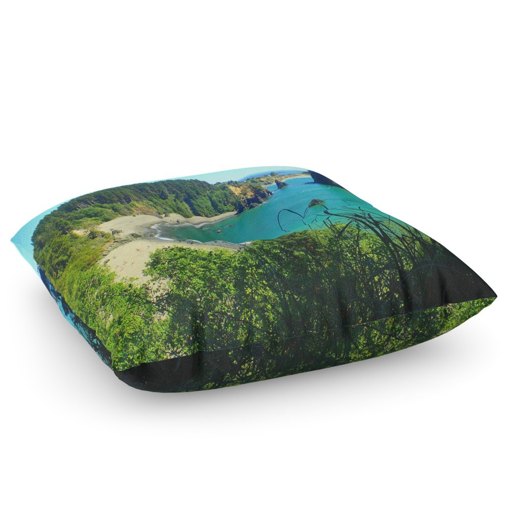 Society6 College Cove Floor Pillow Square 26'' x 26''
