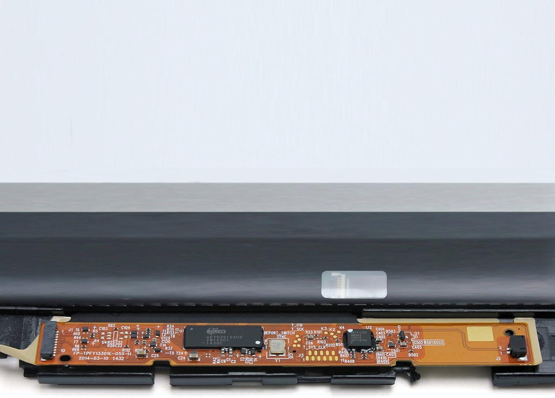 FTDLCD 13.3/pollici QHD pannello LED display LCD Touch Screen Digitizer Assembly per Lenovo Yoga 2/Pro 13/con cornice 3200/X 1800