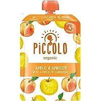 Piccolo Apple & Apricot with Cinnamon, Yellow, Small