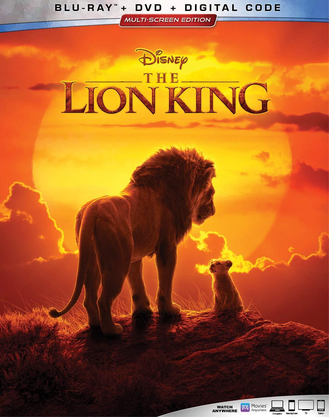 Amazoncom Lion King The Blu Ray Donald Glover Seth