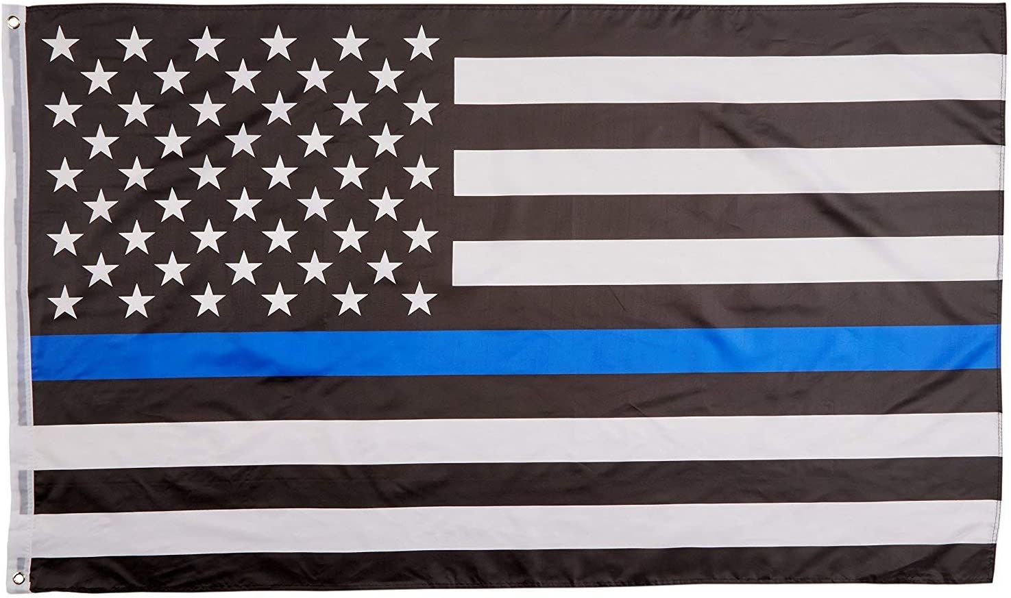 USA Honoring Law Enforcement Officers Banner Flags Outdoor Indoor 3x5 Blue Stripe American Matter Police Flags Thin Blue Line American Flag