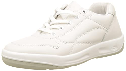 Baskets Blanches Cuir Marche Active ALBANA