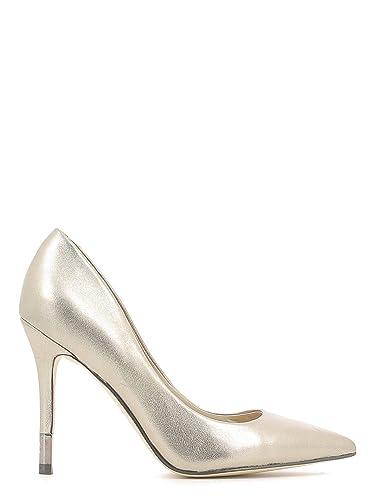 b5abe5fcc547 Guess Escarpins Bayan 6 Argent Femme  Amazon.fr  Chaussures et Sacs