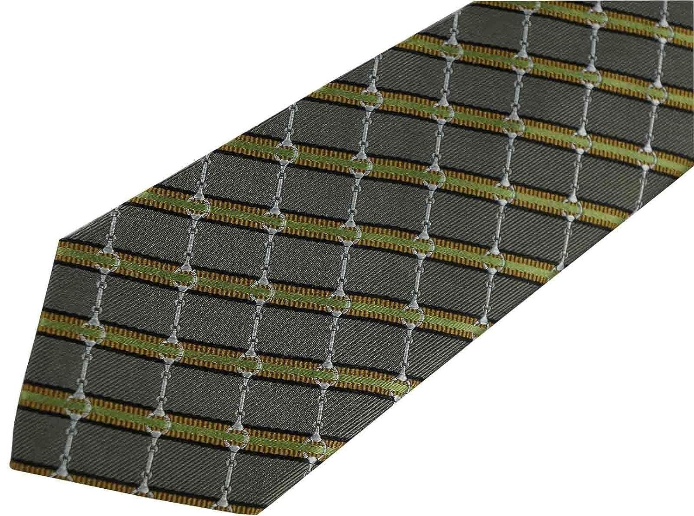 Gucci Tie- Unique- rare- 100% Seda fabricado en Italia - gris ...