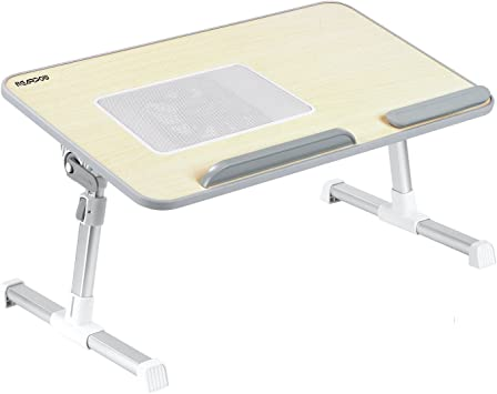 nearpow portátil cama bandeja mesa, ajustable soporte para ...