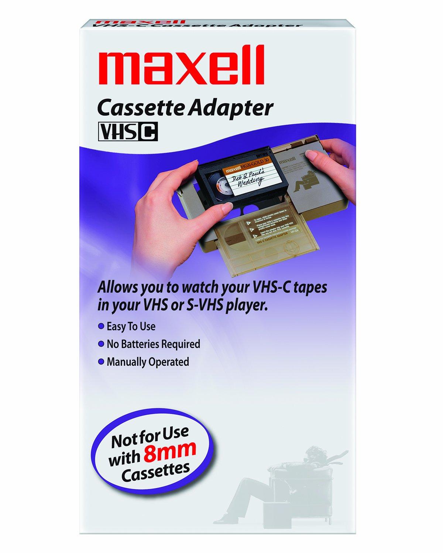 Maxell 290060 VP/CA Mechanical VHS-C Adapter