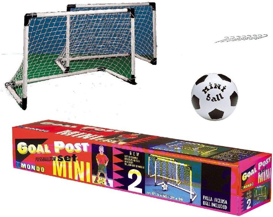 Mondo - Mini portería y balón (18017): Amazon.es: Juguetes y juegos