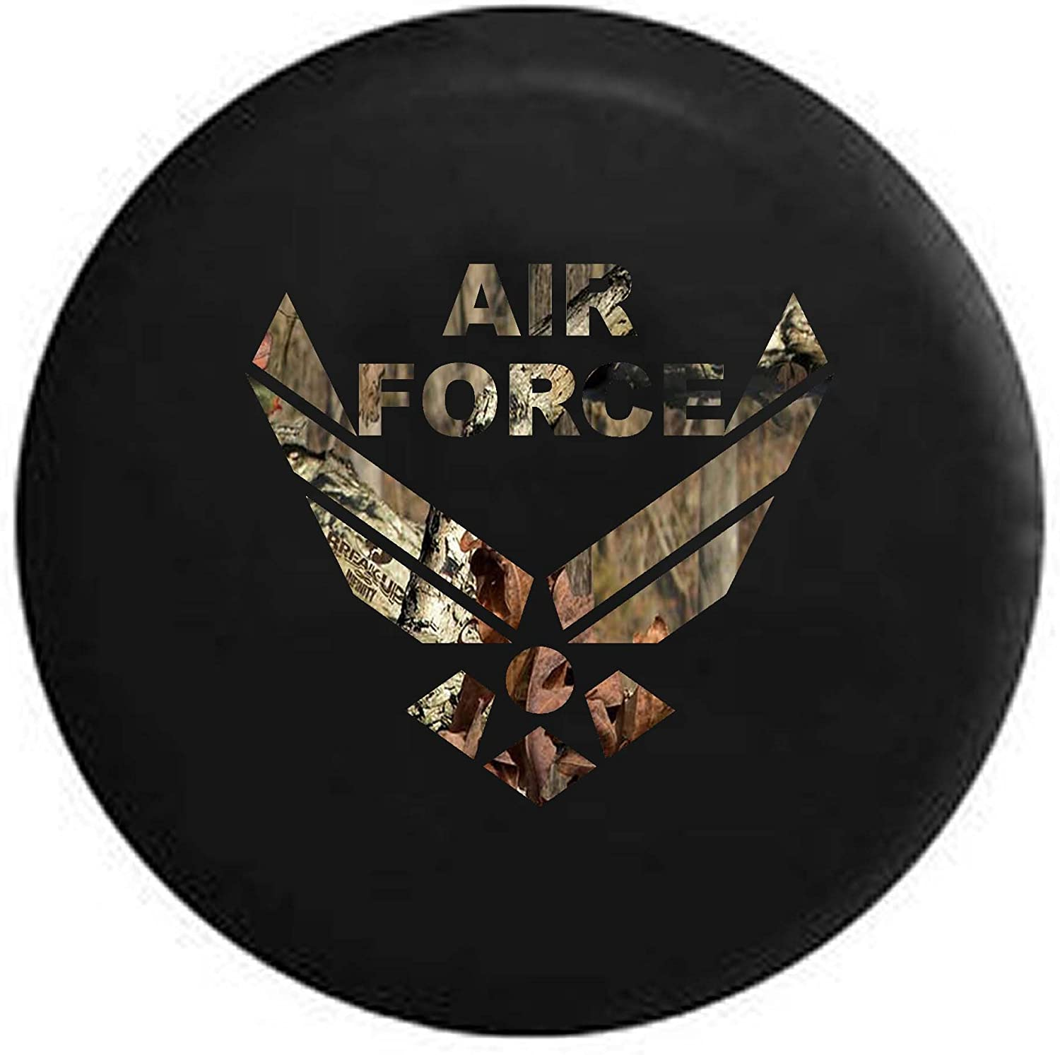 Pike USAF Air Force Military Trailer RV Spare Tire Cover OEM Vinyl Tan 32 in