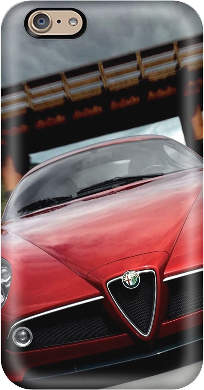 Hot New Alfa Romeo 8c Wallpaper Case Cover For Iphone 6 With Perfect Design